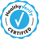 We are HealthyVerify certified!